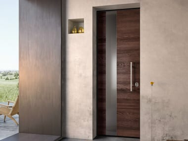 Steel and wood safety door SOVRANA | Steel and wood entry door