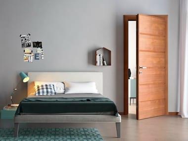 Cherry wood safety door IO   Safety door