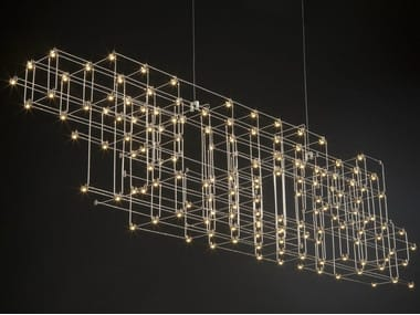 Nickel pendant lamp ORION | Pendant lamp