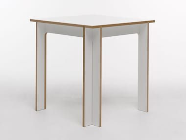 Rectangular MDF table TABLEGROUP | Square table