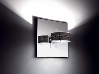 Direct-indirect light wall lamp COMPONI200 UNO RIFLESSA