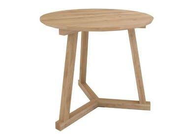 Solid wood stool / coffee table OAK TRIPOD TABLE | Stool