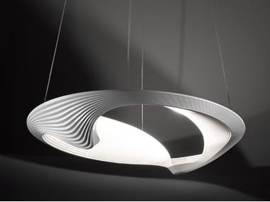 Indirect light pendant lamp SESTESSA CABRIO LED