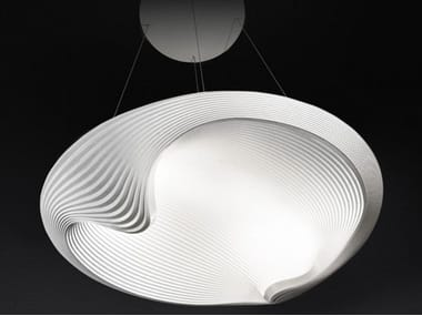 Indirect light pendant lamp SESTESSA SOSPESA LED