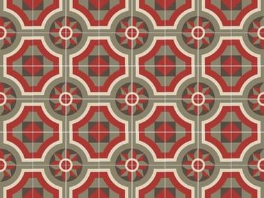Handmade cement tiles ODYSSEAS 243
