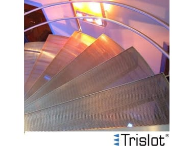 Electro-Forgewelded metal Grille TRISLOT®