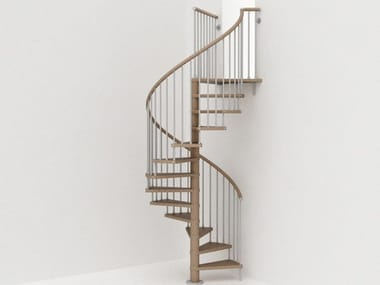 Self supporting steel Spiral staircase GENIUS 030 | Spiral staircase