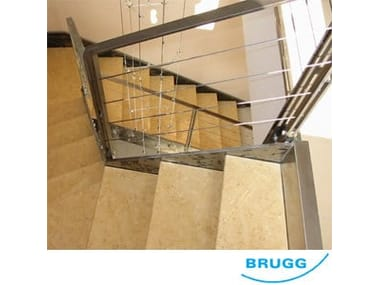 Stainless steel balustrade / Fence Funi BRUGG