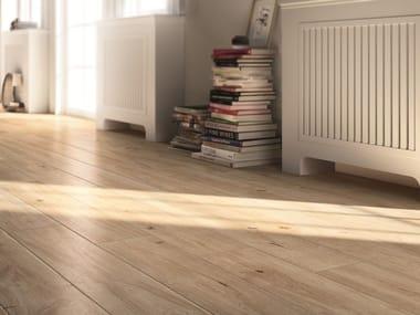 Pavimento in gres porcellanato effetto legno TREVERKEVER