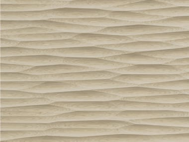 Wood veneer 3D Wall Panel THALWEG WOOD