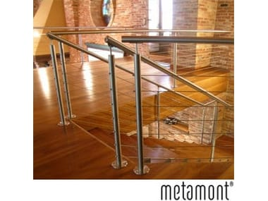 Stainless steel balustrade METAMONT