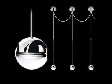 Metal pendant lamp CONVIVIO NEW LED SOPRATAVOLO MULTIPLA