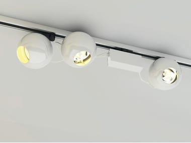 Illuminazione a binario a LED in metallo 12-25 | Illuminazione a binario