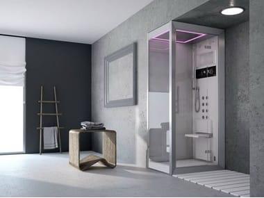 Box doccia multifunzione con bagno turco FRAME 120