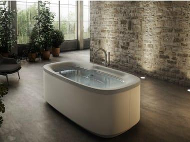Freestanding Whirlpool Bathtub MUSE | Freestanding Bathtub