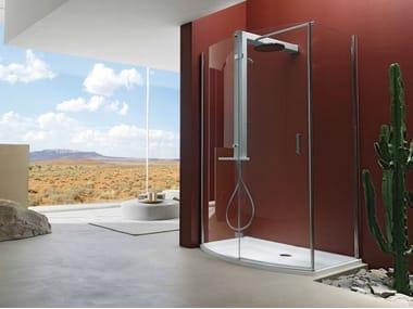 Box doccia con porta a battente START! 70 | Box doccia