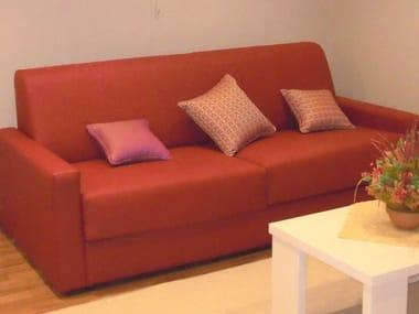 Sofá 2 lugares de ecopele para hotelaria ZEUS | Sofá