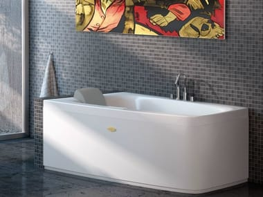 Vasca da bagno asimmetrica FOLIA | Vasca da bagno