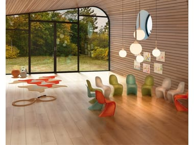 Ecological flooring with wood effect FINE