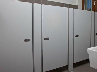 Pareti divisorie per bagni in laminato per bambini archiproducts