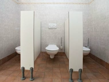 Partition/front without door Toilet partition for children