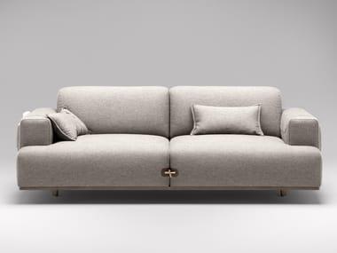 2 seater fabric sofa DUFFLE | 2 seater sofa