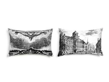 Rectangular fabric sofa cushion HERITAGE 2