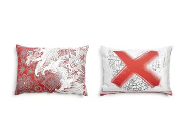 Rectangular fabric sofa cushion OIL 1