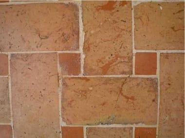 Quarry flooring PAVIMENTO CON TAVELLINA