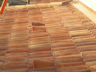 Clay roof tiles vent AEREATORE