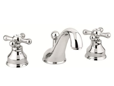 Countertop washbasin tap with automatic pop-up waste 12033 | Washbasin tap