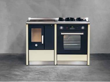 Cucina a libera installazione NEOS 80 l By Corradi Cucine