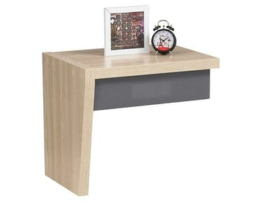 Bedside unit shelf with sound, Bluetooth connection URBAN