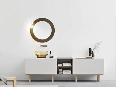 Sectional vanity unit with drawers ESPERANTO | Vanity unit