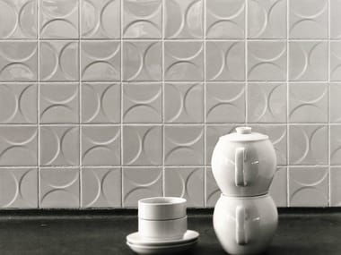 Ceramic 3D Wall Tile MOSA CLASSICS KHO LIANG IE COLLECTION