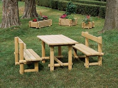 Wooden Bench MONTANA LEGNO | Bench
