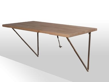 Drop Leaf Table   Wall Mounted Drop Leaf Wooden Table