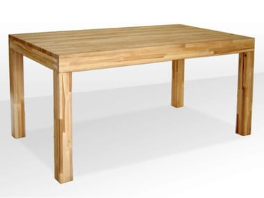 Custom wooden table Wooden table
