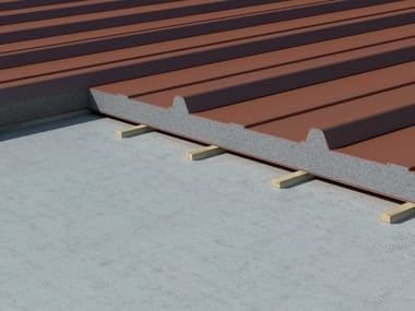 Neopor® Insulated metal panel for roof Neopor® Insulated panel for roof