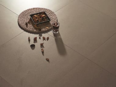 Full-body porcelain stoneware flooring FOSSIL