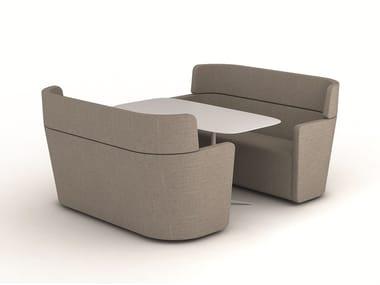 High-back sofa PARCS - WING | Sofa