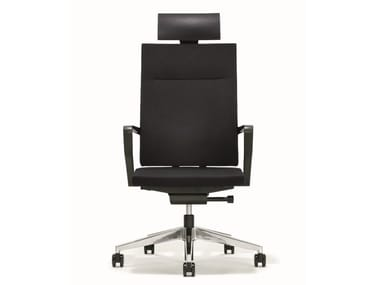 Swivel executive chair with headrest B_RUN | Executive chair with headrest