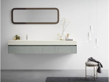 Wall-mounted vanity unit with drawers MOODE | Vanity unit with drawers
