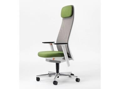 Swivel executive chair with headrest RIYA | Executive chair