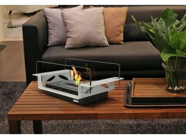 Table-top bioethanol fireplace RIALTO