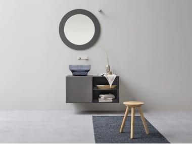 Single vanity unit with drawers ESPERANTO | Vanity unit with drawers