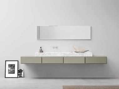 Mobile lavabo laccato singolo ESPERANTO | Mobile lavabo laccato