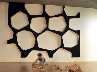 Indoor wooden 3D Wall Surface EO SYSTEM