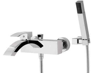 Miscelatore per vasca a muro con doccetta MARTE | Miscelatore per vasca con doccetta