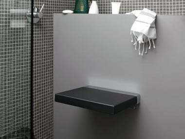 Folding polyurethane shower Seat QUADRA | Shower Seat